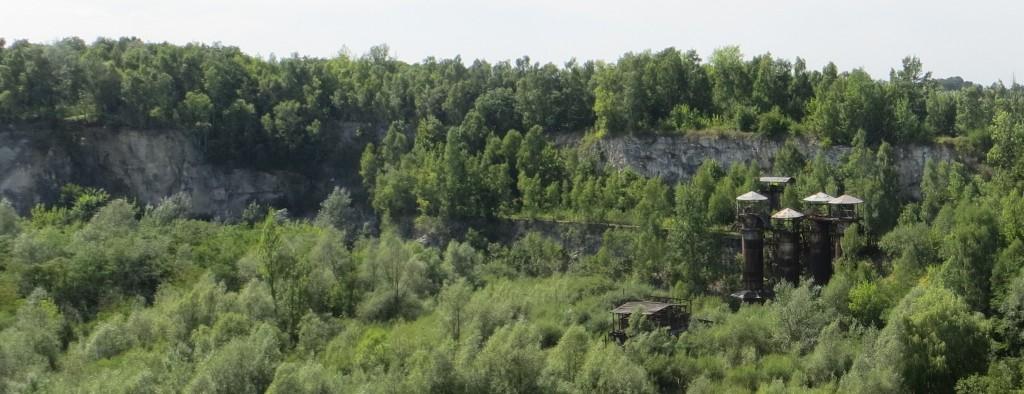 Steinbruch in der Nähe des KZ Płaszów