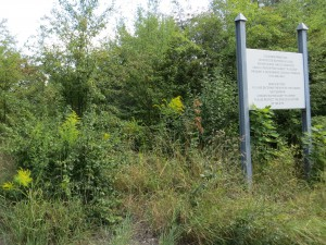»You are entering the site of the former Nazigerman Concentration Camp ›Płaszów‹«