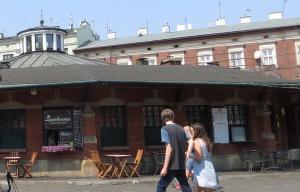 Tagsüber ist auf dem Plac Nowy eher wenig los.