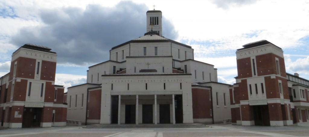 Das Centrum Jana Pawla II. in Łagiewniki