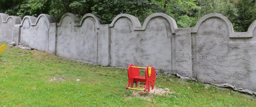 Rest der Krakauer Ghettomauer (Bolesława Limanowskiego 62, Podgórze)